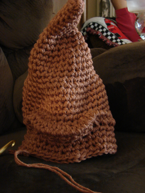 Crochet Harry Potter Sorting Hat
