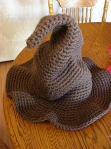 Crochet Patterns Harry Potter : Crochet Harry Potter Sorting Hat