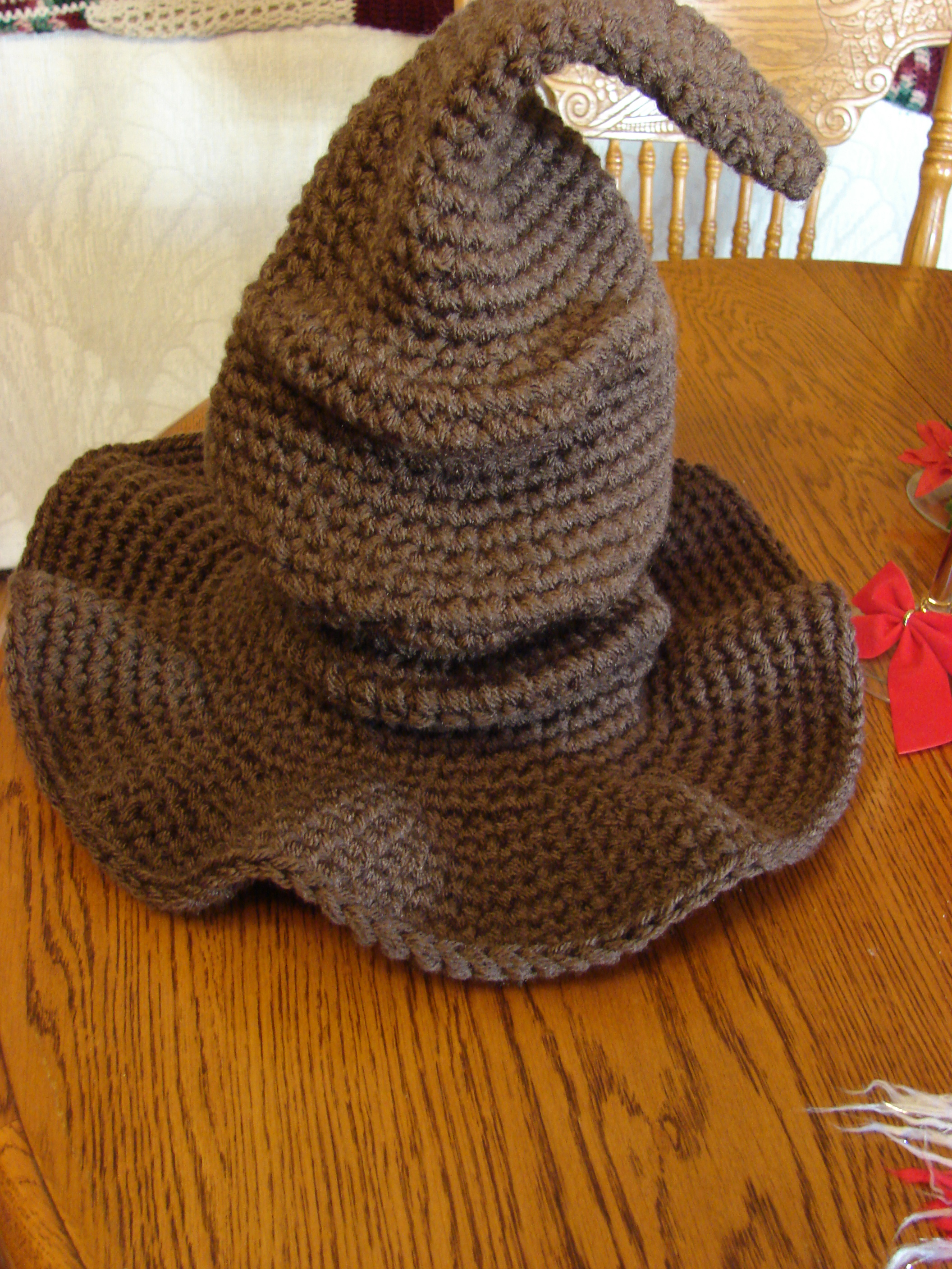 Crochet Patterns Harry Potter : Pictured below is my Niece and her Friend wearing the hats after they ...